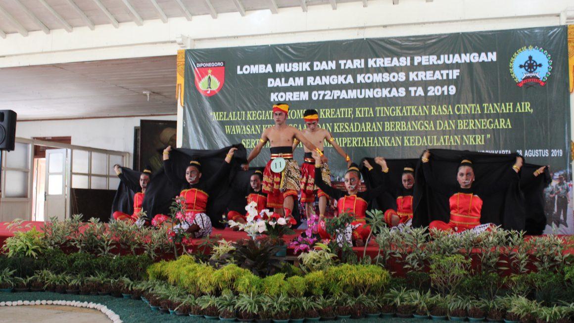 Tari Kreasi Kekeh Gumregut SMA Negeri 2 Grabag Meraih Juara 1