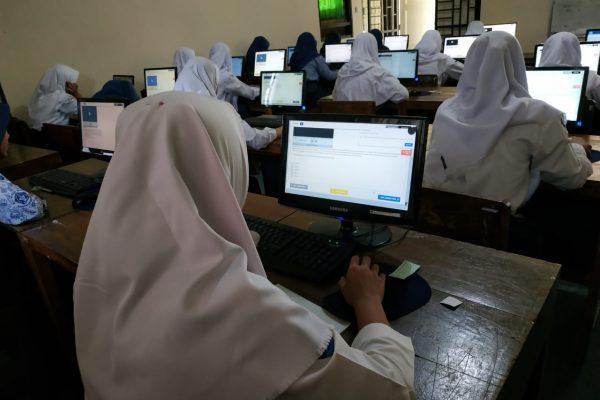 Try Out Bagi Siswa SMP/MTs di SMA Negeri 2 Grabag Tahun 2020